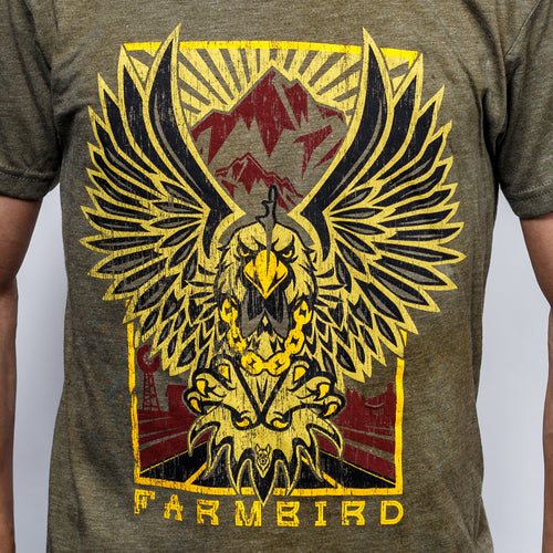 Farmbird T-Shirt Green
