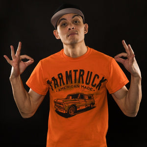 farmtruck and azn american made tshirt