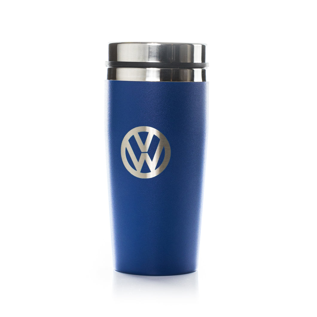 VW Collection - VW Stainless Steel Insulated Tumbler by BRISA  – blue