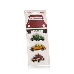 VW Collection - VW Beetle Magnet 3-pc Set  by BRISA