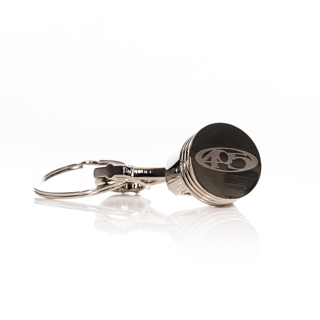405 Piston and Rod - Metal Key Chain