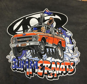 FNA Summernats 31 T-Shirt Charcoal Gray
