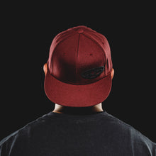 Crimson w/ Black 405 - Flat Brim - Snap Back Hat