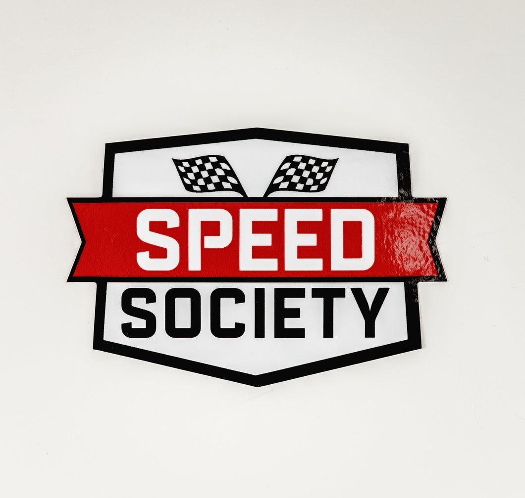 Speed Society Decal