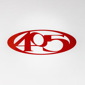 405 Vinyl Decal - Small