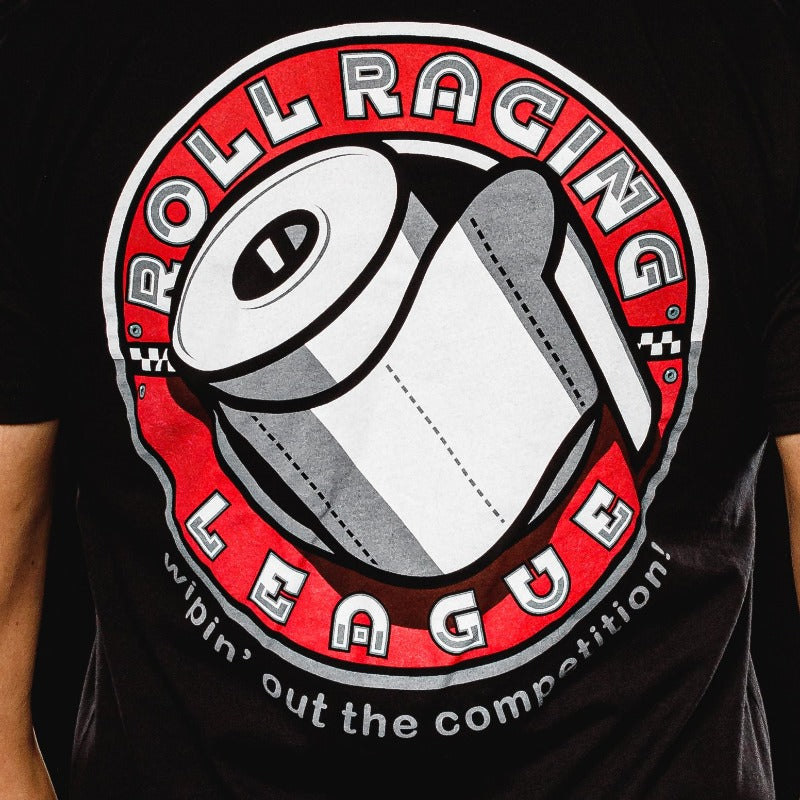 Roll racing league tshirt