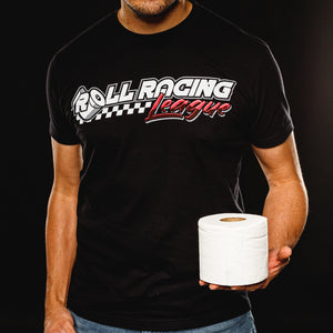 Roll Racing League - Wiping Out the Competition T-shirt