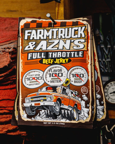 farmtruck and azn goat beef jerky full throttle streetoutlaws