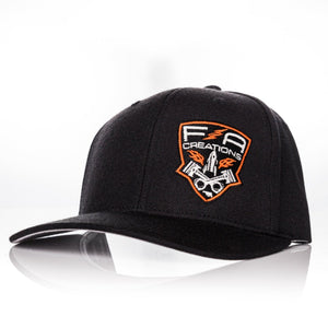 fna creations snap back hat farmtruck and azn