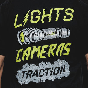 Lights Cameras Traction Tshirt 1320 Video
