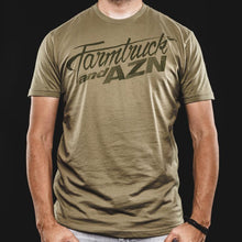 Farmtruck and AZN Logo Tshirt - Green