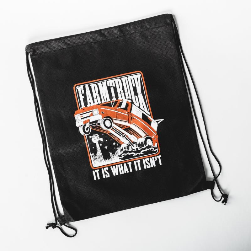 Farmtruck Draw String Bag