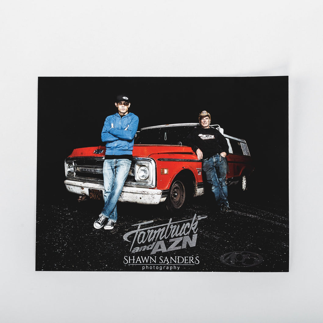 Farmtruck and AZN - Farmtruck 8x10 Poster
