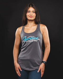 Women's Farmtruck Nation Tank Top - Teal