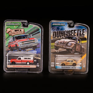 Farmtruck and Dung Beetle - COMBO PACK - 1/64th scale Replica Diecast