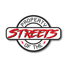 property of the streets street race sticker
