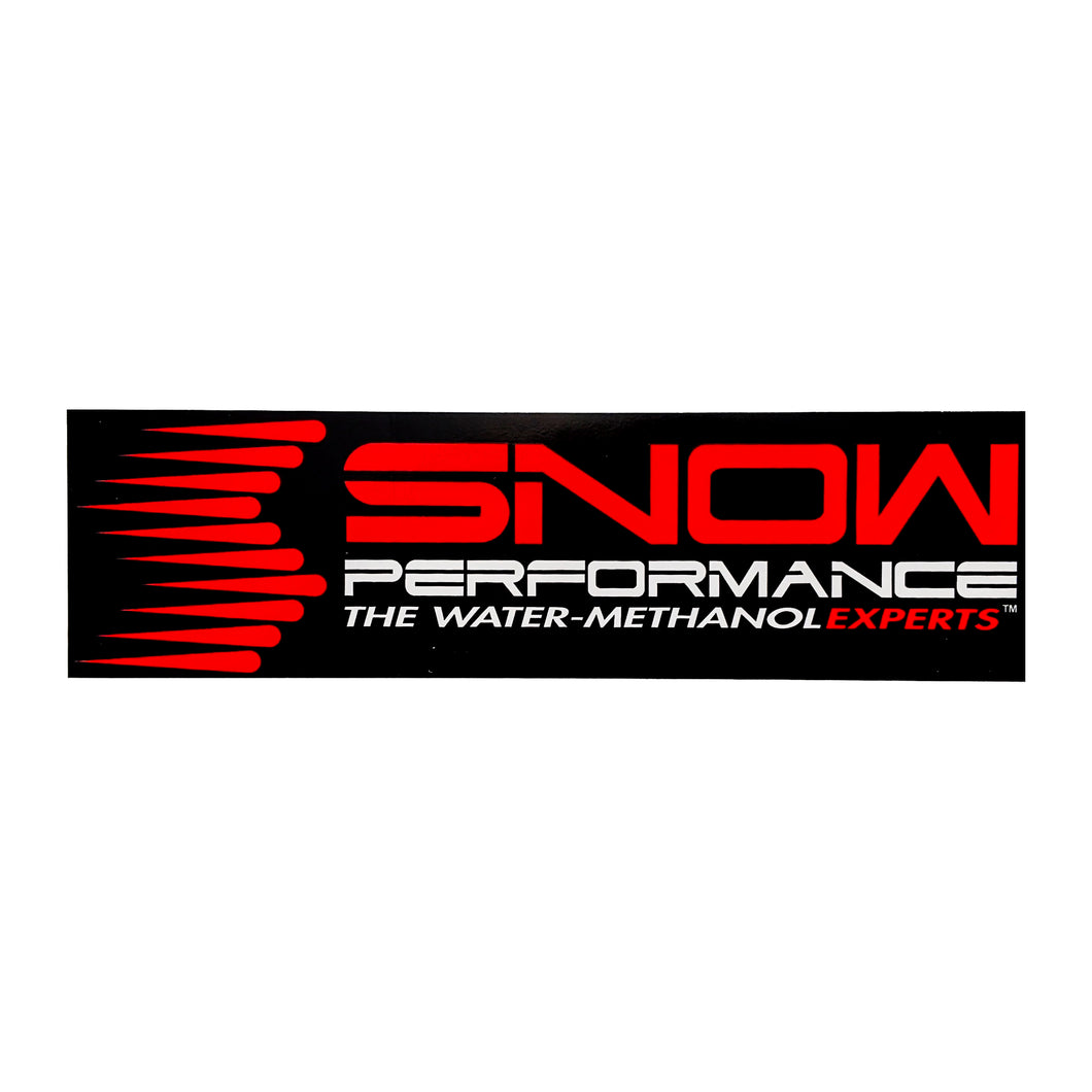Snow Performance Sticker