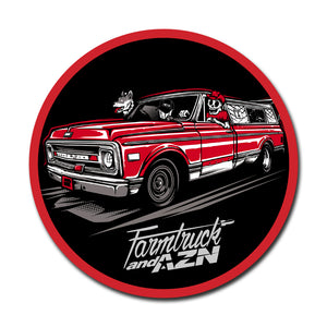 Farmtruck - Vehicle Sticker