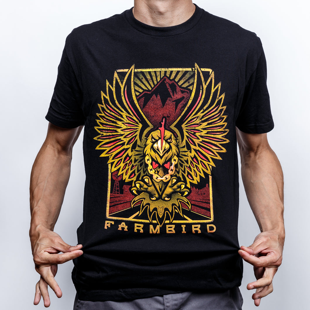 Farmbird Black T-Shirt