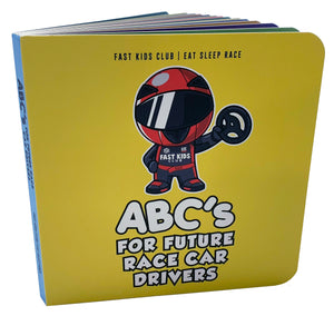 Fast Kids Club - ABC Book For Future Race Car Drivers