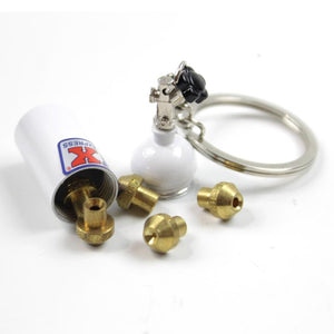 NX Nitrous Bottle Keychain and Jet Holder
