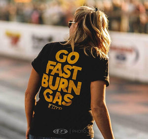 Lutz Race Cars - Go Fast Burn Gas Tshirt