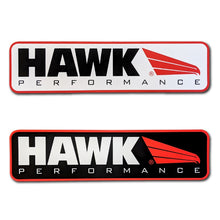 hawk performance brakes large stickers decals