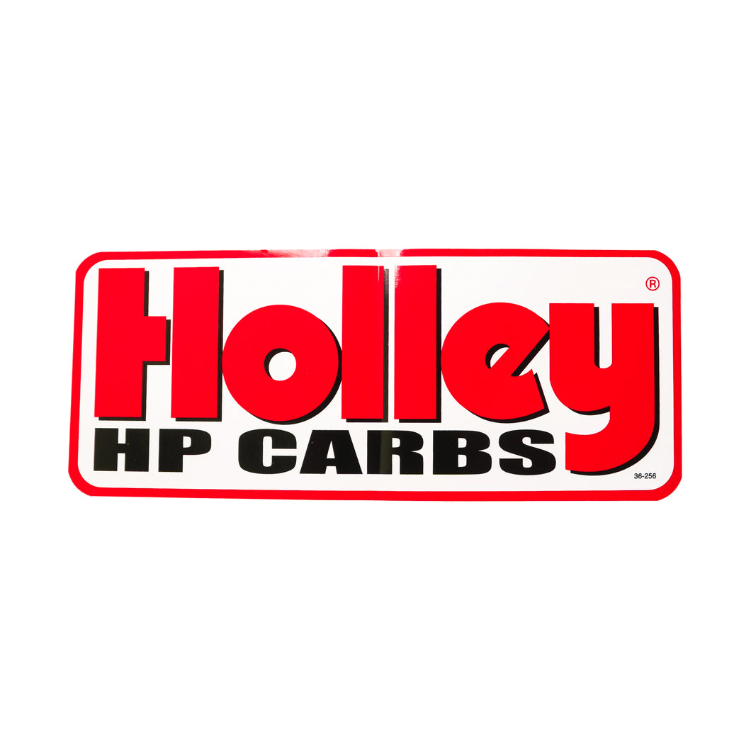Holley HP Carbs Decal