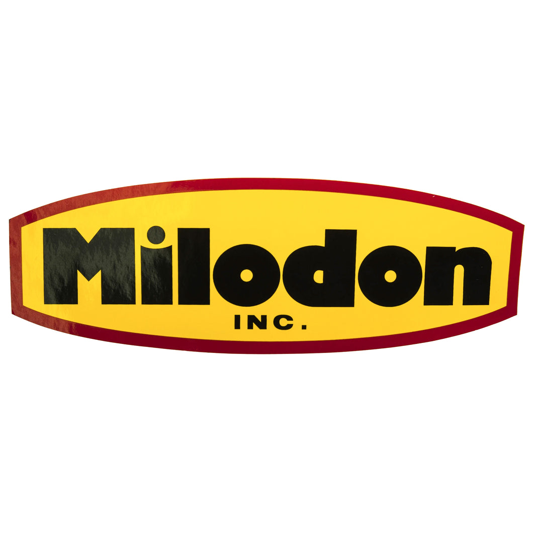 Milodon Inc Decal