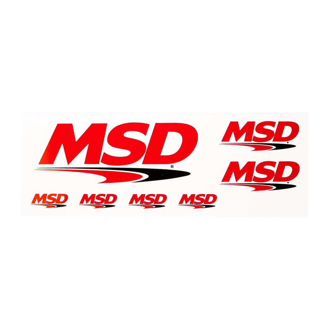 MSD Decal Sheet