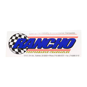 Rancho Sticker
