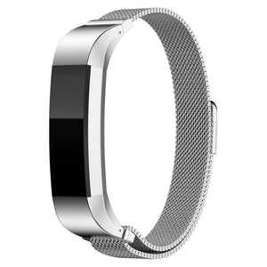 Fitbit Alta Milanese Magnetic Loop bracelet Stainless Steel Band Replacement - androidsmartgear