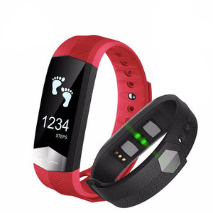 ALANGDUO CD01 Smart Bracelet Watch With Heart Rate Monitor - androidsmartgear