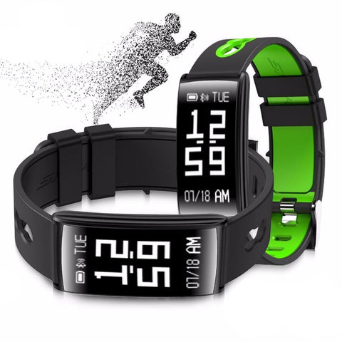 ALANGDUO HM68 Smart waterproof Bracelet Watch - androidsmartgear