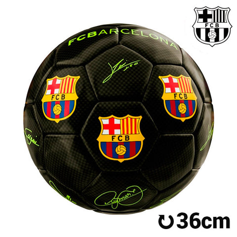F.C. Barcelona Mini Black Football