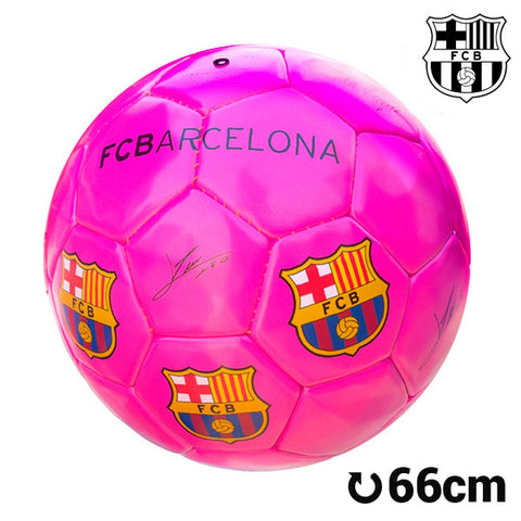 F.C. Barcelona Big Pink Football