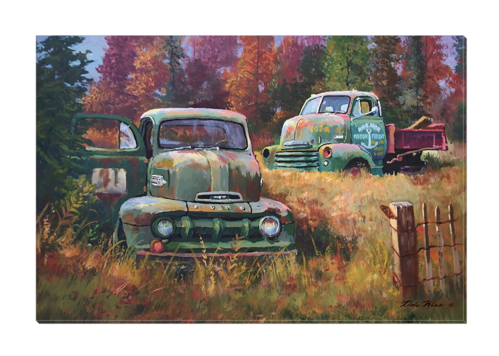 """Cab Overs"" Canvas"