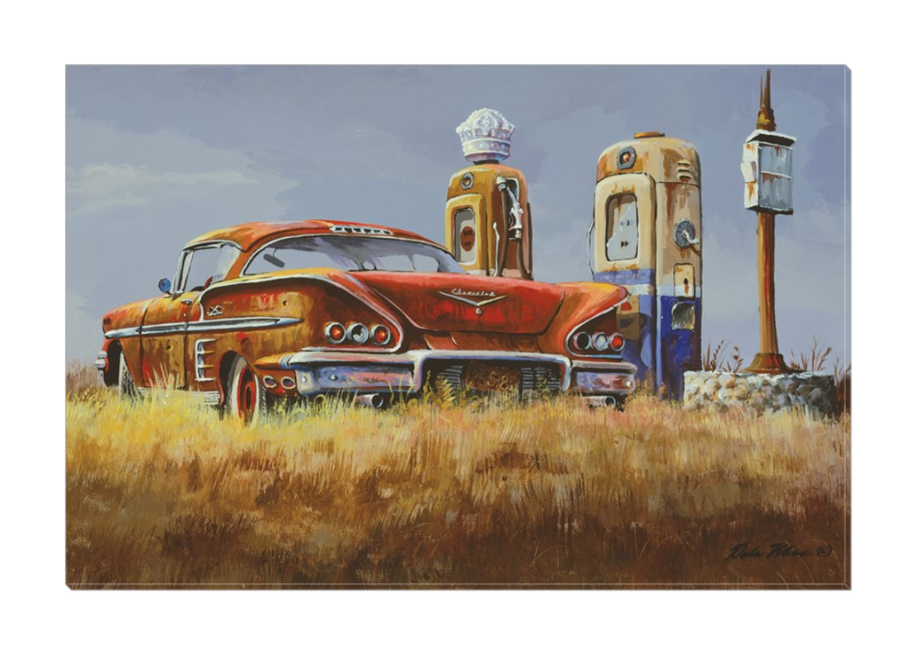 """Impala By Pumps"" Canvas"