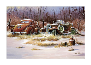 """Woodline Fords"" Canvas"