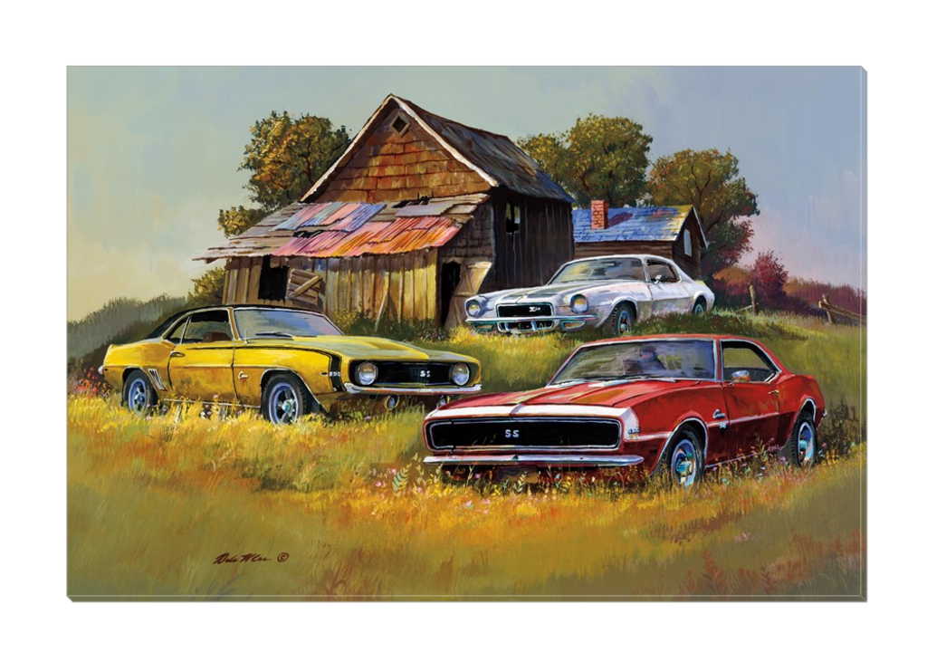 """Camaro Country""Canvas"
