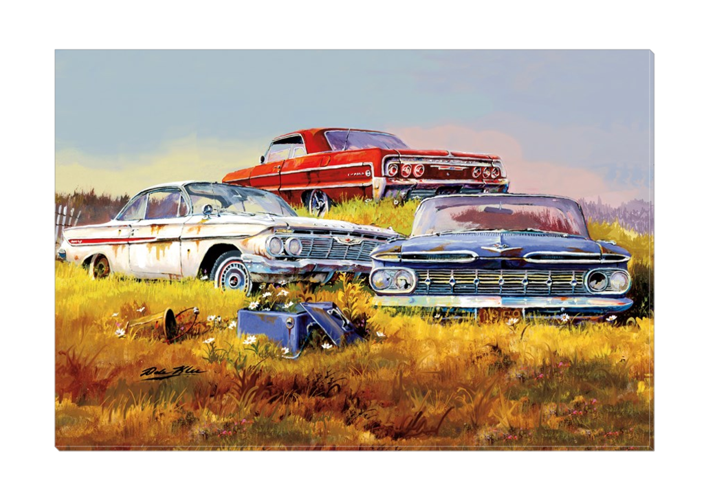 """Impalas"" Canvas"