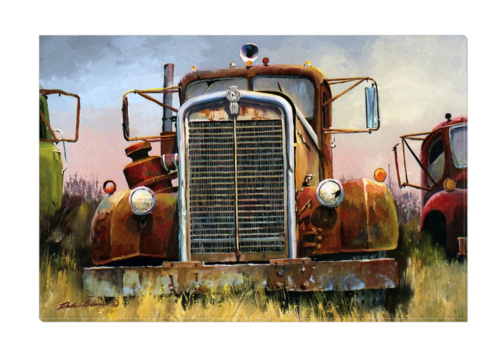"""Kenworth"" Canvas"