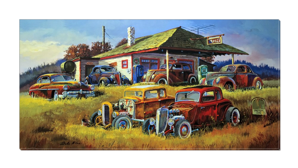 """Country Hi-Boys"" Canvas"