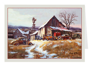 Winter Farm - Holiday Card