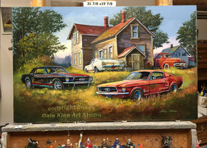 "Original ""Backyard Mustangs"""