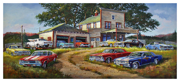 """Chevelle Collector"" – Dale Klee Art Gallery"