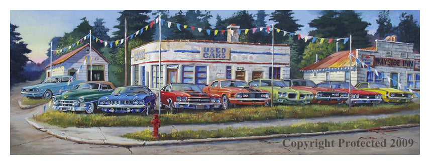 """The Car Lot"""