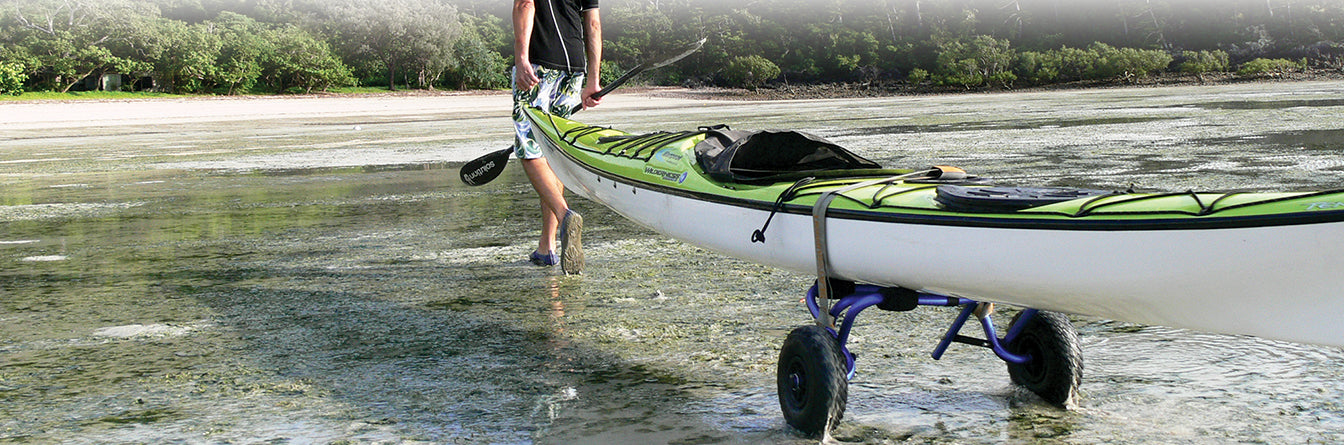 Just the way we roll – how to use our Kayak/Canoe Carts with your boat