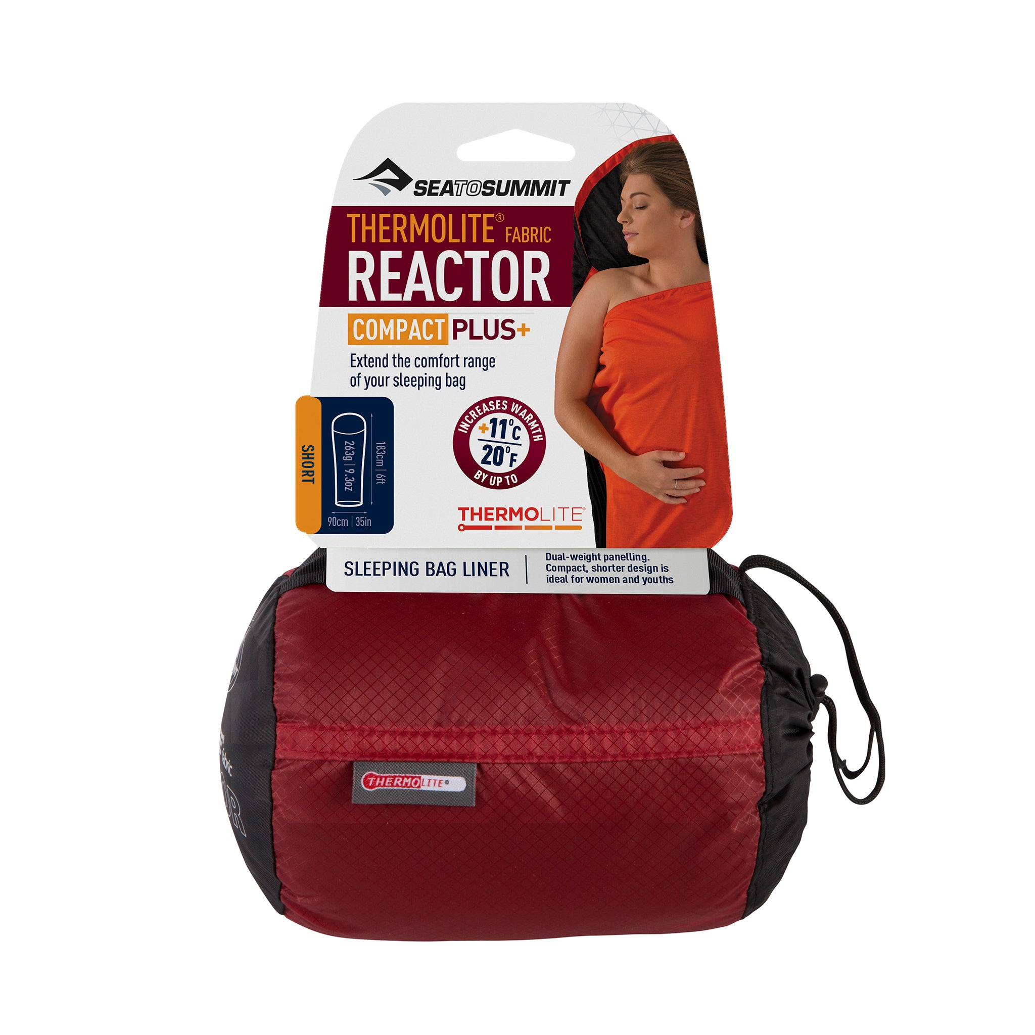 Reactor Compact Plus Liner (adds up to 20°F)