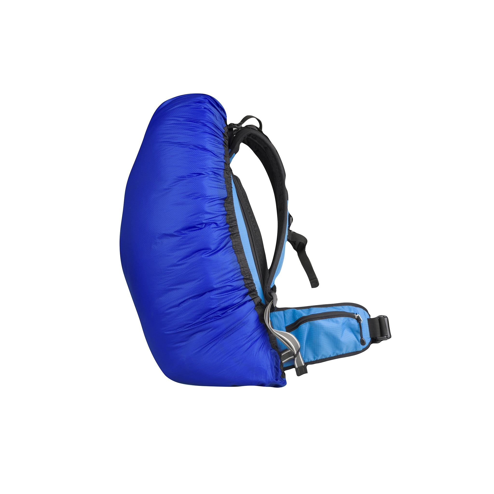 Ultra Sil _ Lightweight Waterproof Rucksack Cover _ Royal Blue _ Small